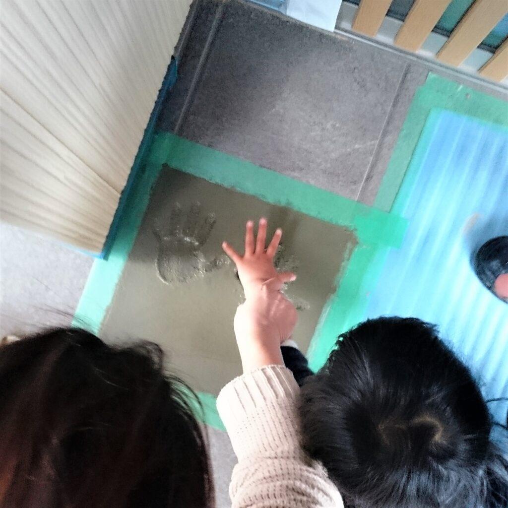 新築宗門住宅メモリアル手形事例
